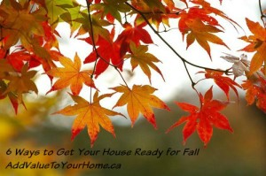 10 Tips to Get Your House Ready for Fall