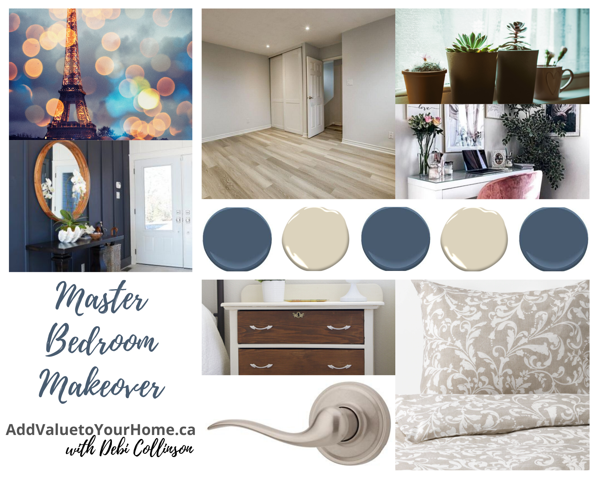 Master Bedroom Makeover - Add Value to Your Home with Debi Collinson